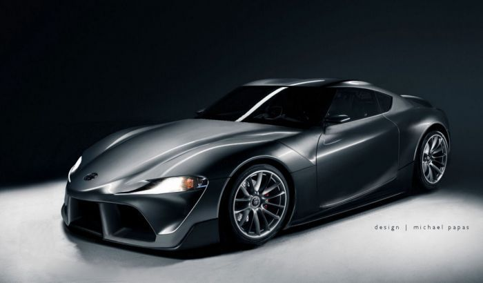 New Toyota Supra first presented to the dealers
