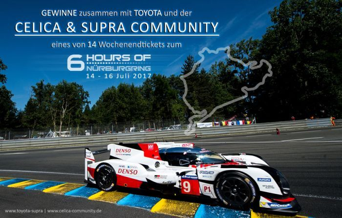 Win tickets for the ⁣⁣6 Hours of Nürburgring...
