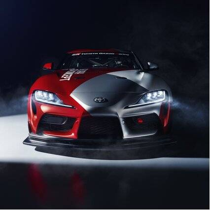 World premiere for Toyota GR Supra GT4 Concept...