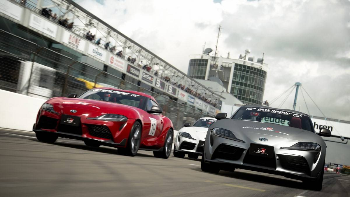 Who is the fastest Supra driver on the PS4?...