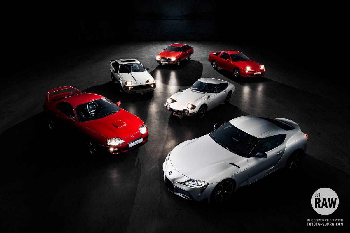 Toyota Supra Community - The meeting of the generations